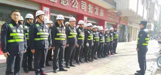 淮安区综合行政执法局 春季市容环境百日整