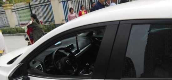 一品国际小区业主的汽车被砸
