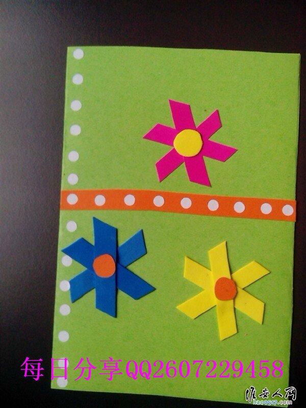 幼儿园手工贺卡制作,很漂亮哦,看到都想收藏